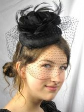 Black Fascinators