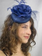 Blue Fascinators