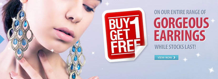 Buy One Get One FREE - Earrings!