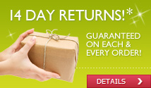 14 Day Returns Guarantee - Click for details