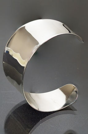 Polished Shiny Stainless Steel Cuff