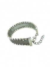 Silver Colour Fashion Bracelet