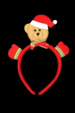Christmas Teddy Novelty Hairband