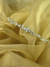 Delicate Crystal Tiara or Aliceband