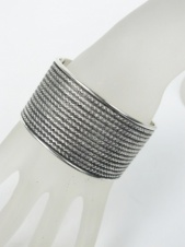 Antique Silver Style Cuff