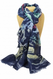 3 Colours NEW Beautiful Starfish Print Ladies Scarf UK Seller