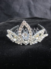 Childrens Mini Crystal Comb Tiara