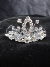Childrens Pretty Mini Crystal Comb Tiara