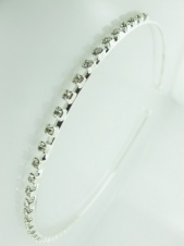 Classic Single Row Crystal Alicebands