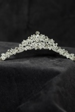 Sparkling Clear Crystal Traditional Comb Tiara