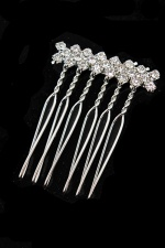 Sparkling Crystal Detail Haircomb