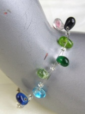 Delicate Multicolour Glass Bead Fashion Bracelet