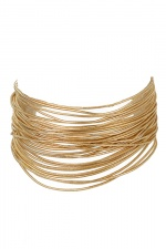 Gold Layered Fashion Bracelet