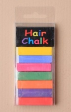 Festival Colourful Hair Chalks