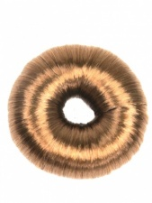 Copper Brown Imitation Hair Elasticated Hair Bun
