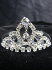 Kids Diamonte Crystal Mini Tiara