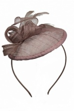Small Mocha Brown Hatinator with Hairband