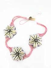 Pink Choker Festival Necklace