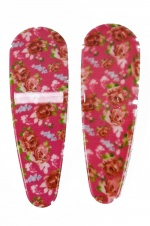 Pair of Pink Ditsy Print Floral Pretty Hair Sleepies