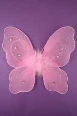 Pink Mini Fairy Wings