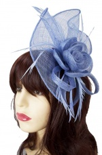 Lavender Large Fascinator with Clip & Hairband
