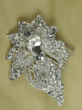 Pretty Crystal Headpiece Comb