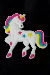 Pretty Multi Coloured Unicorn Hair Clip