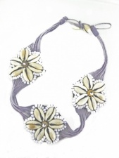 Cute Lilac Festival Necklace