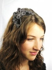 Sparkling Butterfly Applique Hairband