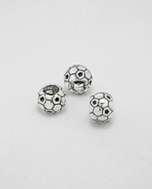 Sterling 925 Silver  Spacer Charm Bead